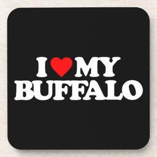 I LOVE MY BUFFALO COASTERS