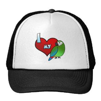 I Love my Buffon's Macaw Trucker Hat