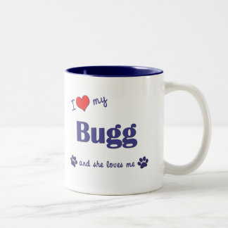 I Love My Bugg (Female Dog) Coffee Mug