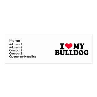 I love my Bulldog Business Card Template