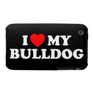 I Love my Bulldog iPhone 3G/3GS Case
