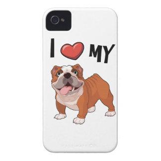 I love my Bulldog iPhone 4 Case-Mate Case