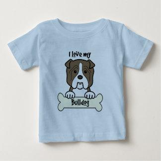I Love My Bulldog T Shirt