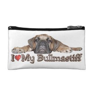 I Love My Bullmastiff Cosmetic Bag