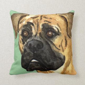 I Love my Bullmastiff Throw Pillow