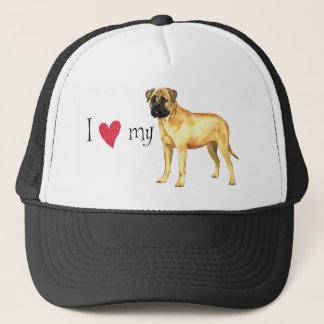 I Love my Bullmastiff Trucker Hat