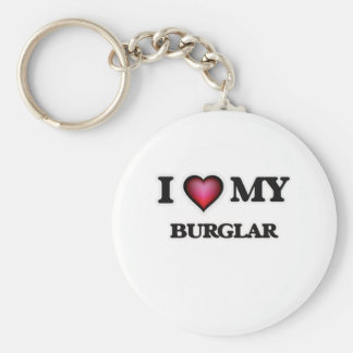 I love my Burglar Keychain