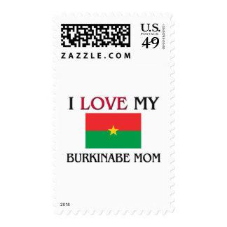 I Love My Burkinabe Mom Postage