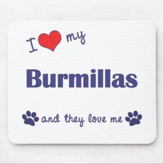 I Love My Burmillas (Multiple Cats) Mouse Pad