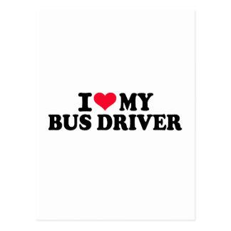 I love my Bus driver Postcard