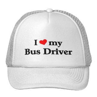 I love my Bus driver Trucker Hat
