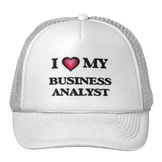 I love my Business Analyst Trucker Hat