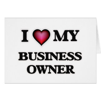 I love my Business Owner Card