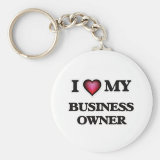 I love my Business Owner Keychain