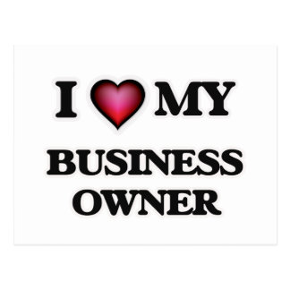 I love my Business Owner Postcard