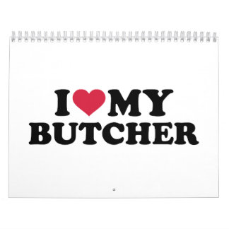 I love my butcher calendar
