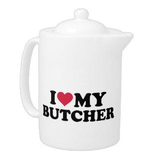 I love my butcher teapot