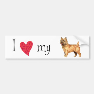 I Love my Cairn Terrier Bumper Sticker