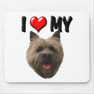 I Love My Cairn Terrier Mouse Pad