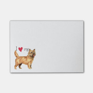 I Love my Cairn Terrier Post-it® Notes