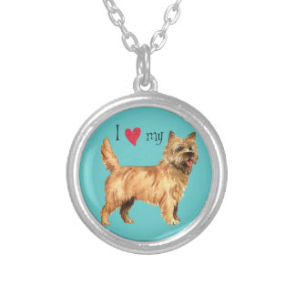 I Love my Cairn Terrier Silver Plated Necklace