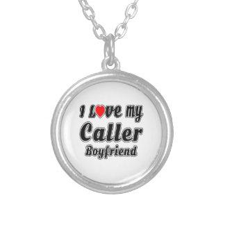 I love my Caller Boyfriend Pendants