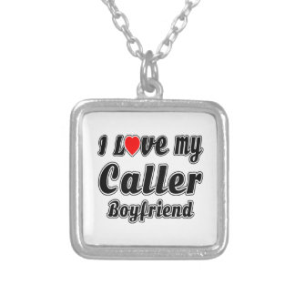 I love my Caller Boyfriend Custom Necklace