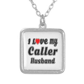 I Love My Caller Husband Pendants