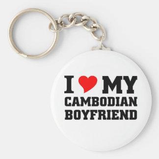 I love my Cambodian Boyfriend Keychain