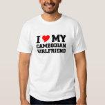 I love my Cambodian Girlfriend Tee Shirt