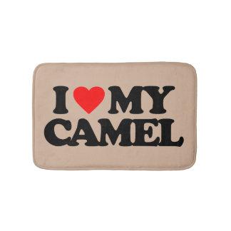 I LOVE MY CAMEL BATHROOM MAT