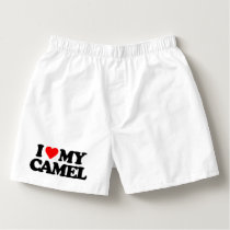 I LOVE MY CAMEL BOXERS