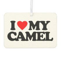 I LOVE MY CAMEL CAR AIR FRESHENER