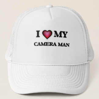 I love my Camera Man Trucker Hat