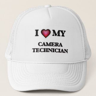 I love my Camera Technician Trucker Hat