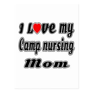 I Love My Camp nursing Mom Postcards
