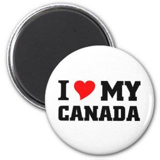 I love my Canada 2 Inch Round Magnet