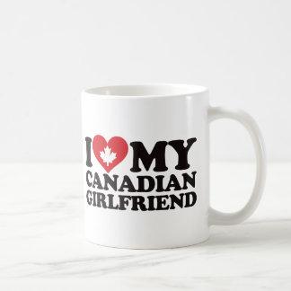 I Love My Canadian Girlfriend Classic White Coffee Mug