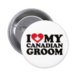 I Love My Canadian Groom Pin