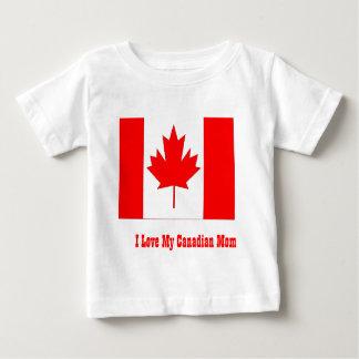 I love my canadian mom baby T-Shirt