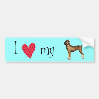 I Love my Cane Corso Bumper Sticker