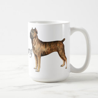 I Love my Cane Corso Classic White Coffee Mug