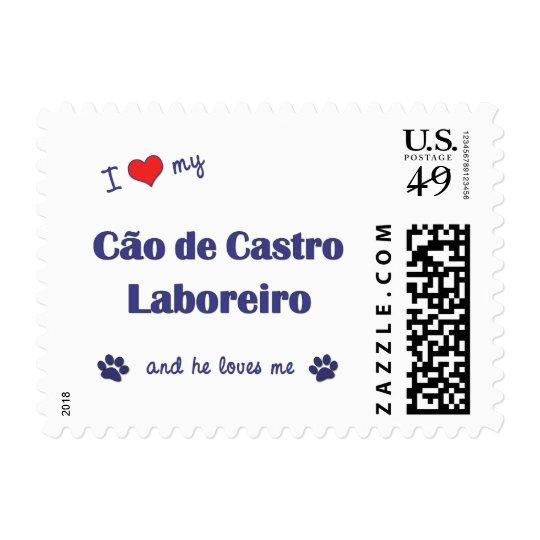 I Love My Cao de Castro Laboreiro (Male Dog) Postage