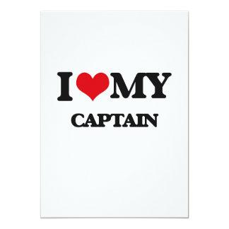 I love my Captain Personalized Invites