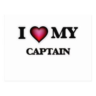 I love my Captain Postcard
