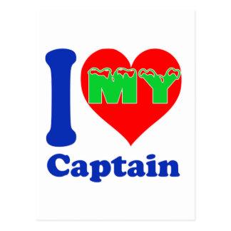 I love my Captain. Post Card