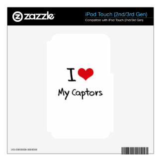 I love My Captors Decals For iPod Touch 2G