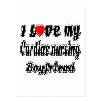 I love my Cardiac nursing Boyfriend Postcards