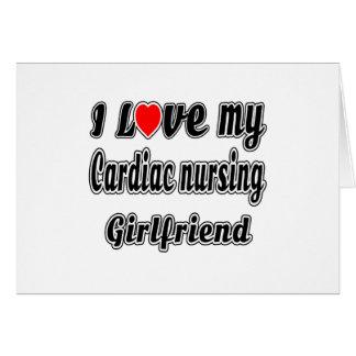 I love my Cardiac nursing Girlfriend Card