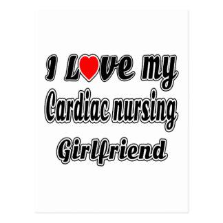 I love my Cardiac nursing Girlfriend Postcards